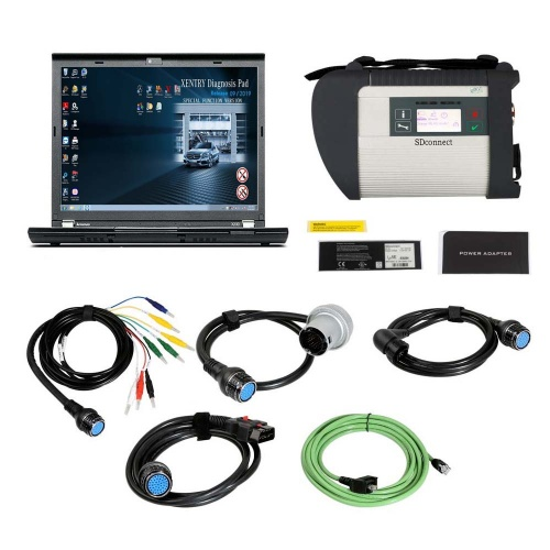 V2020.03 MB SD Connect C4 Star Diagnosis Plus Lenovo X230 Laptop With Vediamo and DTS Engineering Software
