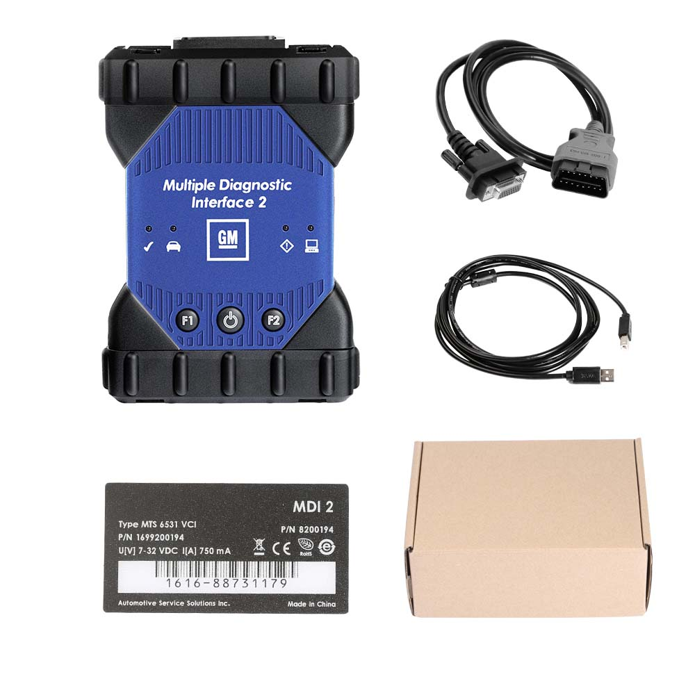 Best quality GM MDI 2 MDI II Diagnostic Tool Multiple Diagnostic Interface With wifi V2020.03