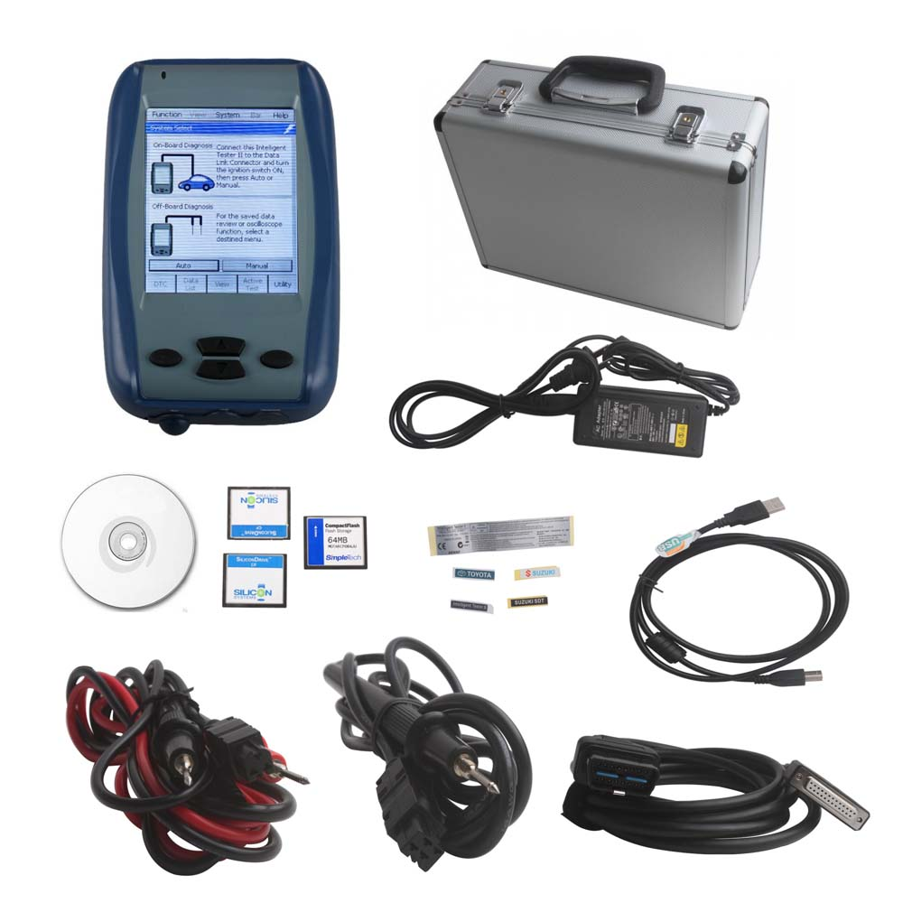 TOYOTA DENSO Diagnostic Tester IT2 TOYOTA Diagnostic tool for TOYOTA and SUZUKI V2017.12 with Oscilloscope Function