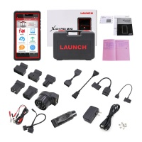 Launch X431 Pro Mini Auto Diagnostic Tool with Bluetooth Global Version 2 Years Free Update Online