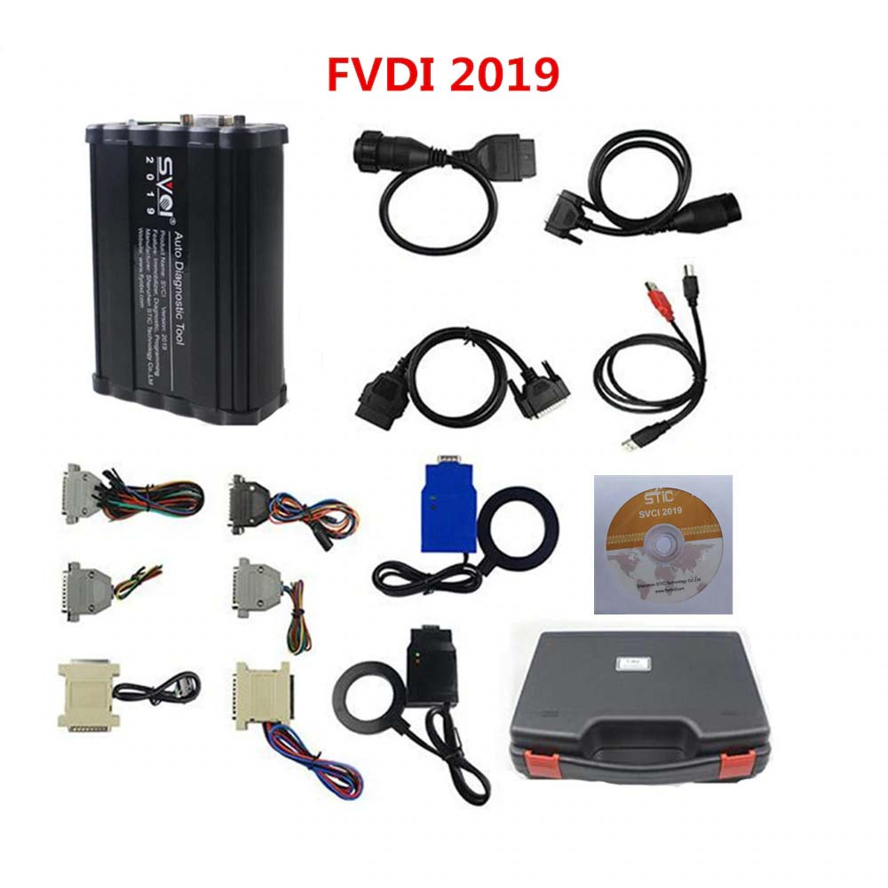 SVCI 2019 FVDI AVDI ABRITES Commander Full Version IMMO Diagnostic Programming Tool with 18 Software