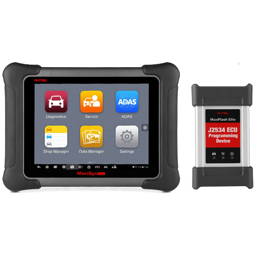 Original Autel MaxiSys Elite with J2534 ECU Programming Support Wifi / Bluetooth Full Diagnostic Scanner 2 year free Update Online
