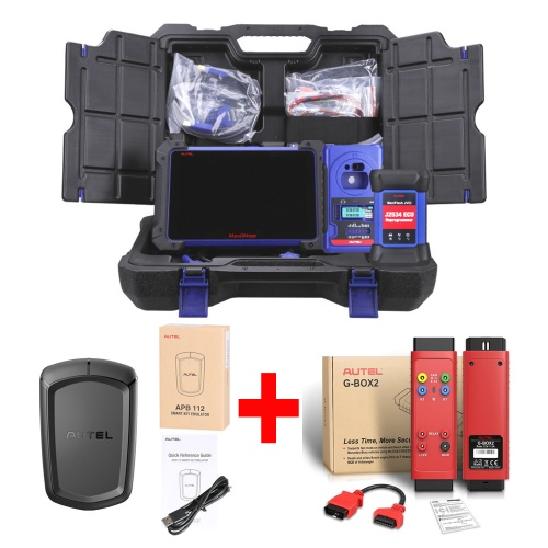 Autel MaxiIM IM608 Key Programming Diagnotsic Tool IMMO Key Programmer XP400 & MaxiFlash ECU Reprogrammer with APB112 & G-BOX 2